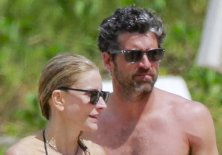 Patrick Dempsey, Wife Jillian, and Kids Vacation on St. Barts Beach (PHOTOS)