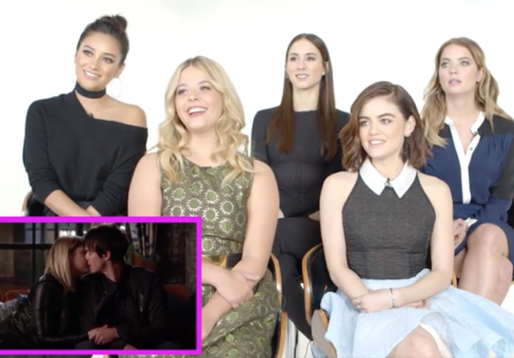 Pretty Little Liars Kisses Video