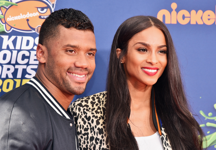 Quarterbacks celebrity relationships, Ciara, Russell Wilson
