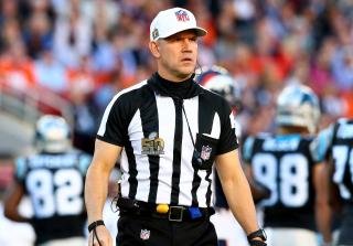 Super Bowl referee Clete Blakeman