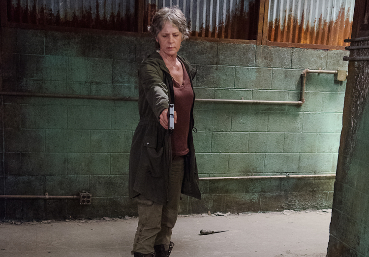 Carol Walking Dead Season 6, Episode 13