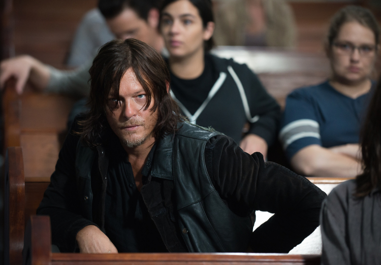 Daryl The Walking Dead Season 6, Episode 12