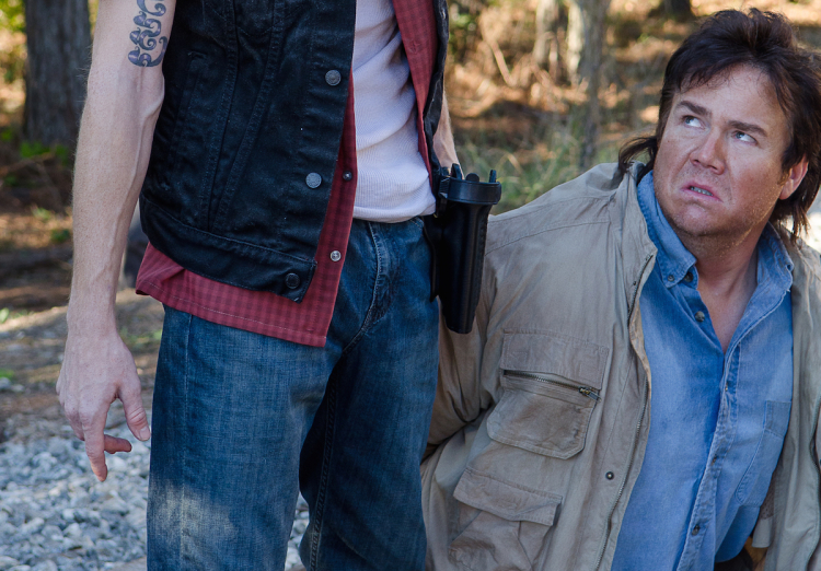 Dwight and Eugene The Walking Dead Season 6, Episode 14