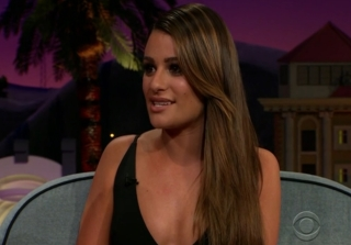 Lea Michele Reveals Pregnancy Cravings… Say What? (VIDEO)