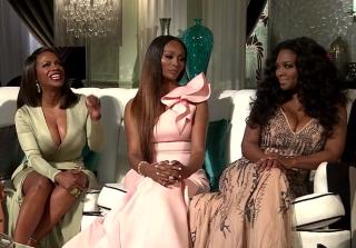 Kandi Burruss Defends Kenya Moore at \'RHoA\' Season 8 Reunion (VIDEO)