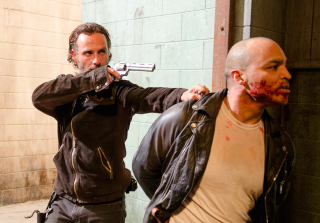 The Walking Dead's Andrew Lincoln Talks Favorite Walker Kills (VIDEO)