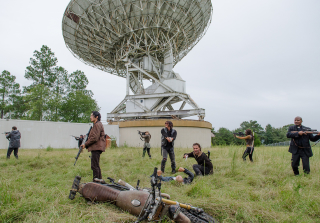 'The Walking Dead' Season 7: See Photos of The Sanctuary & More