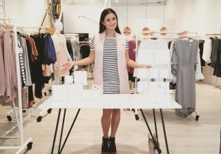 Catherine Lowe Launches Fashion Career With 5-Piece Collection! (PHOTOS)