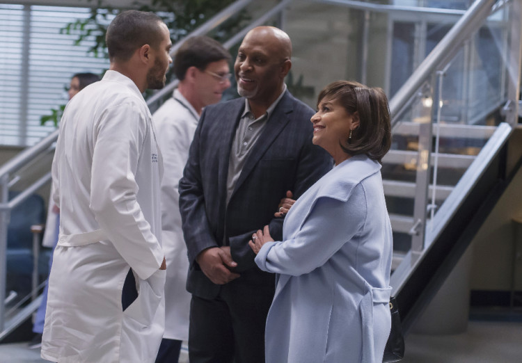 Grey's Anatomy Season 12, Episode 16, Jesse Williams, Jackson Avery, James Pickens Jr., RIchard Webber, Debbie Allen, Catherine Avery