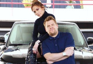 Jennifer Lopez & James Corden Prank Leonardo DiCaprio in 'Carpool Karaoke' (VIDEO)