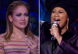 Jennifer Lopez Cries After La'Porsha Renae\'s Emotional 'American Idol' Performance (VIDEO)