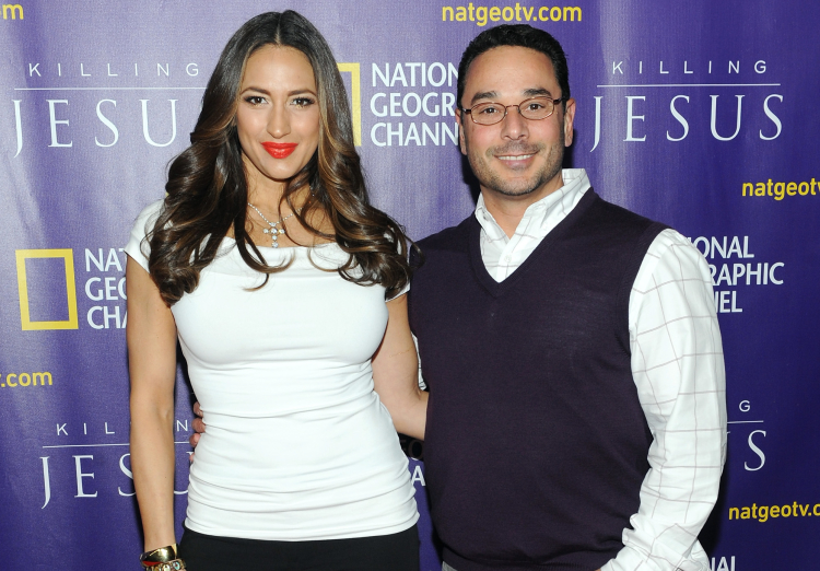 Amber and Jim Marchese Attend the Premiere of National Geographic Channel's Killing Jesus at Alice Tully Hall on March 23, 2015