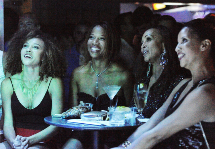 Ashley Boalch Darby, Charrisse Jackson Jordan, and Karen Huger From The Real Housewives of Potomac