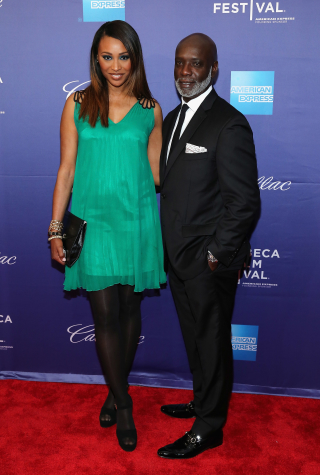 Cynthia Bailey and Peter Thomas