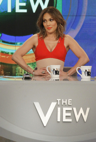 Jennifer Lopez as Guest Co-Host on 'The View'
