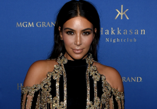 Kim Kardashian Makes Post-Baby Red Carpet Return After Plane Problems (PHOTOS)