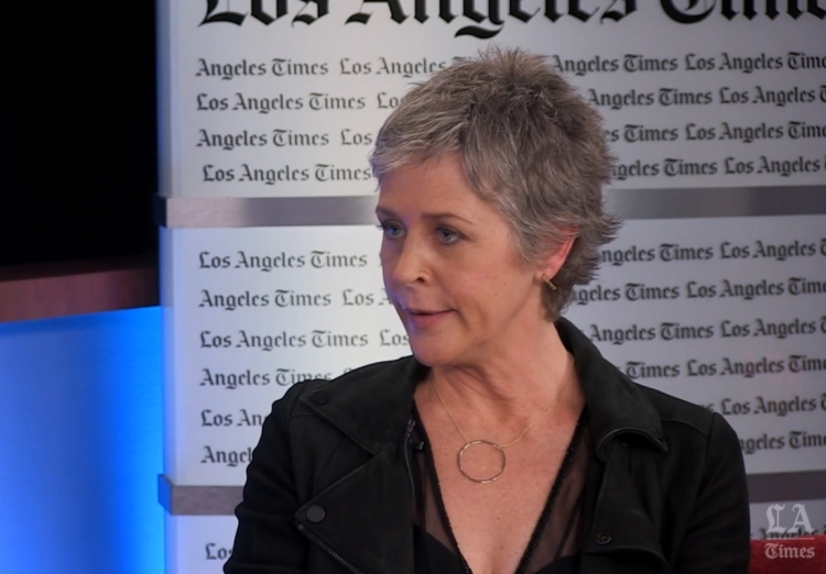 Melissa Mcbride Talks to LA Times STILLL