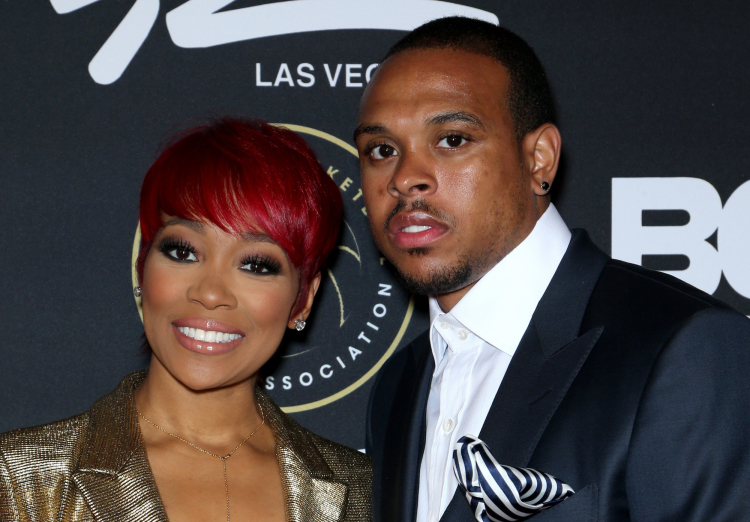 Monica and Husband Shannon Brown