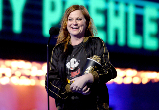 Amy Poehler & Chris Pratt Stage Epic 'Parks & Rec' Reunion at 2016 MTV Movie Awards (PHOTOS)