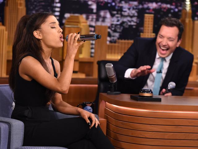 Ariana Grande impressions