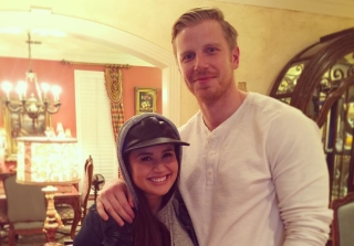 Catherine Lowe Shows Off Growing Baby Bump at Almost 7-Months Pregnant! (PHOTOS)