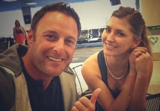 Chris Harrison & 'Bachelor' Alum AshLee Frazier Spark Dating Rumors (PHOTOS)