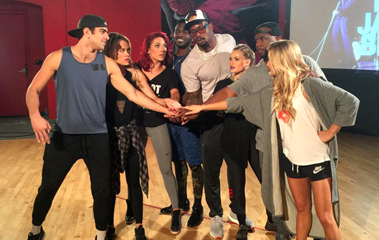 Dancing With the Stars Season 22 team boys