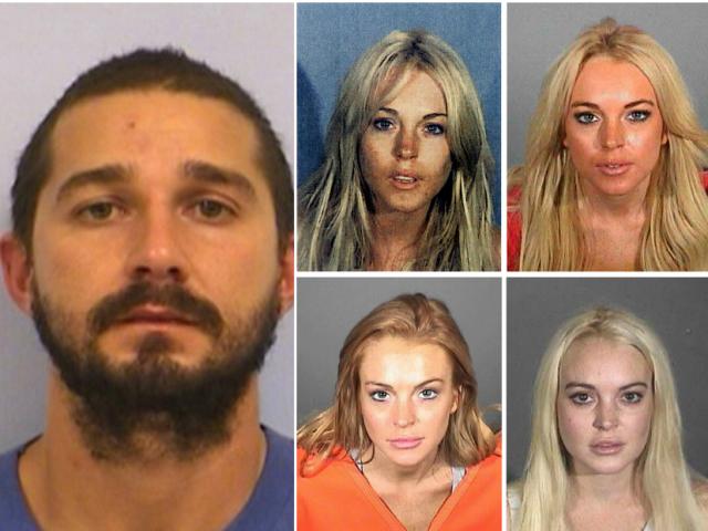 Disney Channel arrests, Kelli Berglund, Shia LaBeouf, Lindsay Lohan