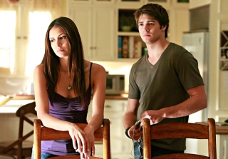 'Vampire Diaries' Stars Nina Dobrev & Steven R. McQueen Reunite! (PHOTO)