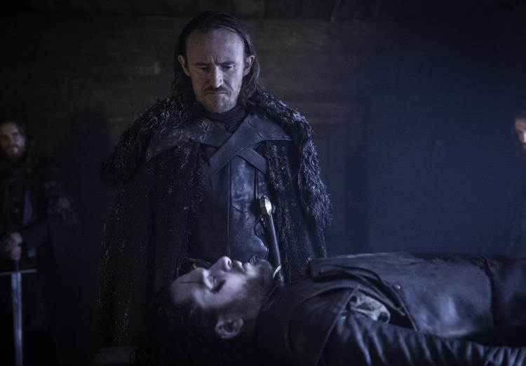 Jon Snow Game of Thrones Season 6 Premiere