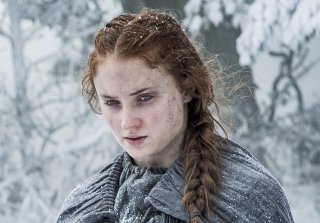 "Sophie Turner on Sansa's Rumored Baby Bump: ""I Was Just Fat That Day!"""