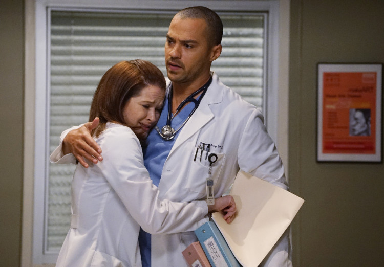 Grey's Anatomy, April Kepner, Sarah Drew, Jackson Avery, Jesse Williams