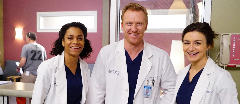 Grey's Anatomy Season 12, Episode 20, Kelly McCreary, Kevin McKidd, Caterina Scorsone