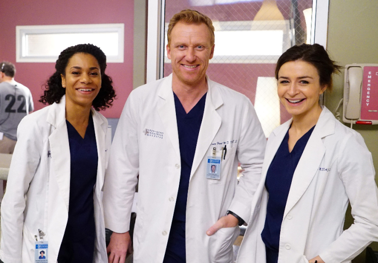 Grey's Anatomy Season 12, Episode 20, Kelly McCreary, Kevin McKidd, Caterina Scorsone