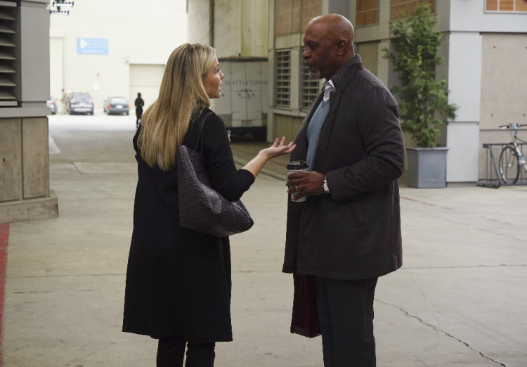 Grey's Anatomy Season 12, Episode 21, Jessica Capshaw, Arizona Robbins, Richard Webber, James Pickens Jr.