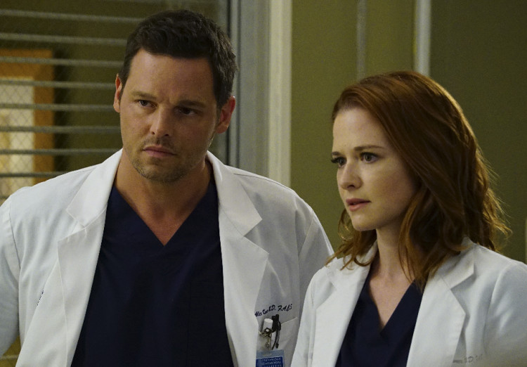 Grey's Anatomy Season 12 finale, Alex Karev, Justin Chambers, April Kepner, Sarah Drew