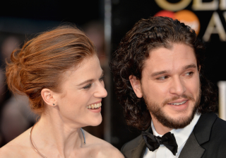 Kit Harington & Rose Leslie Confirm Relationship on Red Carpet (PHOTOS)