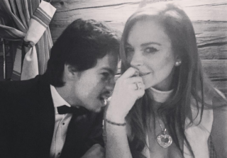 Lindsay Lohan Is NOT Engaged to Russian Millionaire Egor Tarabasov