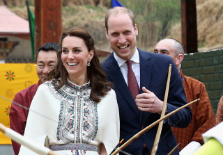 "Crowd Chants About Prince William's ""Private Parts"" During Bhutan Visit"