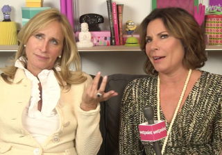 Sonja & Luann Rank RHONY's Biggest Feuds (VIDEO) — Exclusive