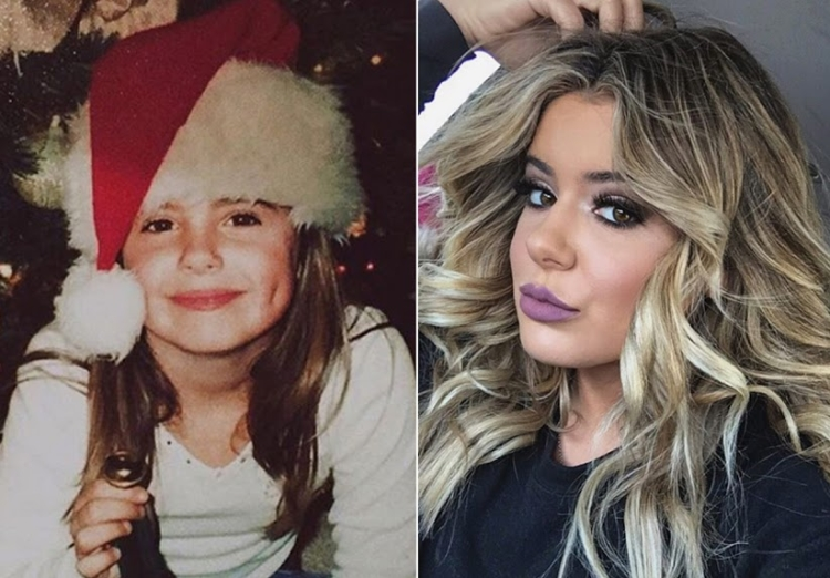 Brielle Biermann Then and Now