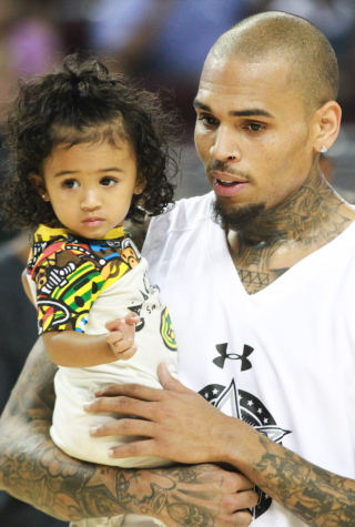 Chris Brown and Royalty in 2015