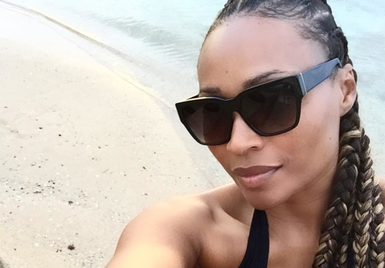 Cynthia Bailey in Puerto Rico