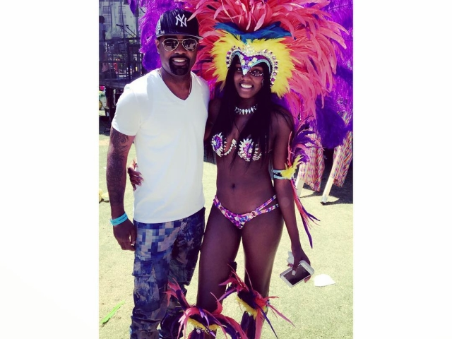 Kaela and Todd Tucker at the Atlanta Caribbean Parade