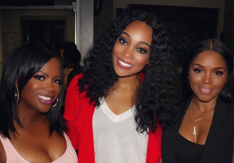 Kandi Burruss, Monica Brown, and Rasheeda Frost See Beyonce in Concert