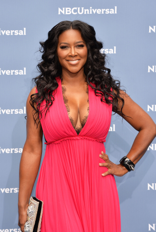 Kenya Moore Attends the NBCUniversal 2016 Upfront Presentation in New York City on May 16, 2016