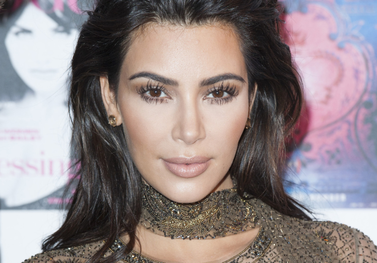 Kim Kardashian at the Vogue 100 Festival