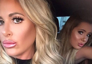"Kim Zolciak Admits She Got a ""Non-Surgical"" Facelift"