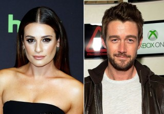 Lea Michele & New BF Robert Buckley Double Date With Glee's Becca Tobin