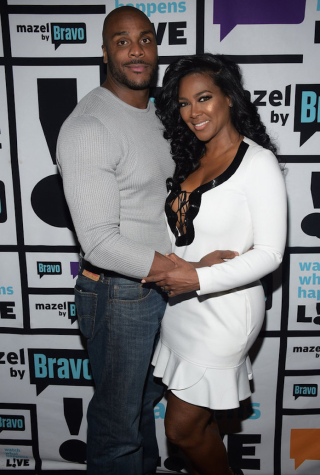 Matt Jordan and Kenya Moore